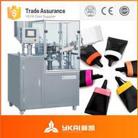 GFJX-3A semi-automatic metallic tube filling machine for ointment/cream/adhesive/glue/shoe polish