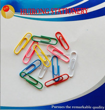 Wholesale colorful plastic paper clips 33mm