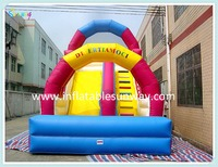 OEM colourful inflatable water slide, funny inflatbale slide for sale