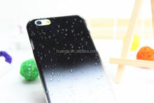 High quality Ultra Slim Crystal Back Cover raindrops gradient hard back case for iphone6 china wholesale