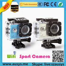 100% Original waterproof wifi sport camera1080p sj4000 with 12.0MP camera full hd 1080p Traveler waterproof sports camera