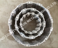 Low price razor wire fencing/razor barbed wire