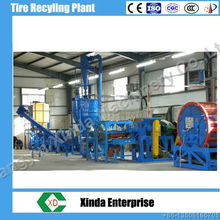 tire recycling tyre recycling plant rubber powder plant