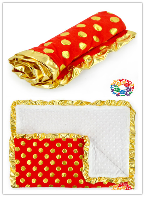 Red baby products kids gold polka dot cheap china baby for Gold polka dot china