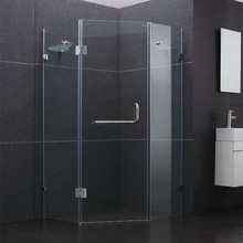 New design frameless glass shower enclosure fiberglass shower enclosures hinge door Shower enclosure