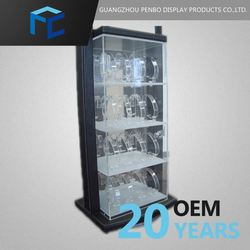 Small Order Accept Customized 5 Piece Watch Display Case