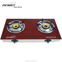 China wholesale appliances easy assembled disposable gas stove protector wth glass cover