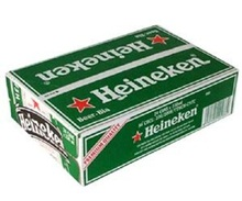 Heinekens Lager Beer from Holland/Netherlands