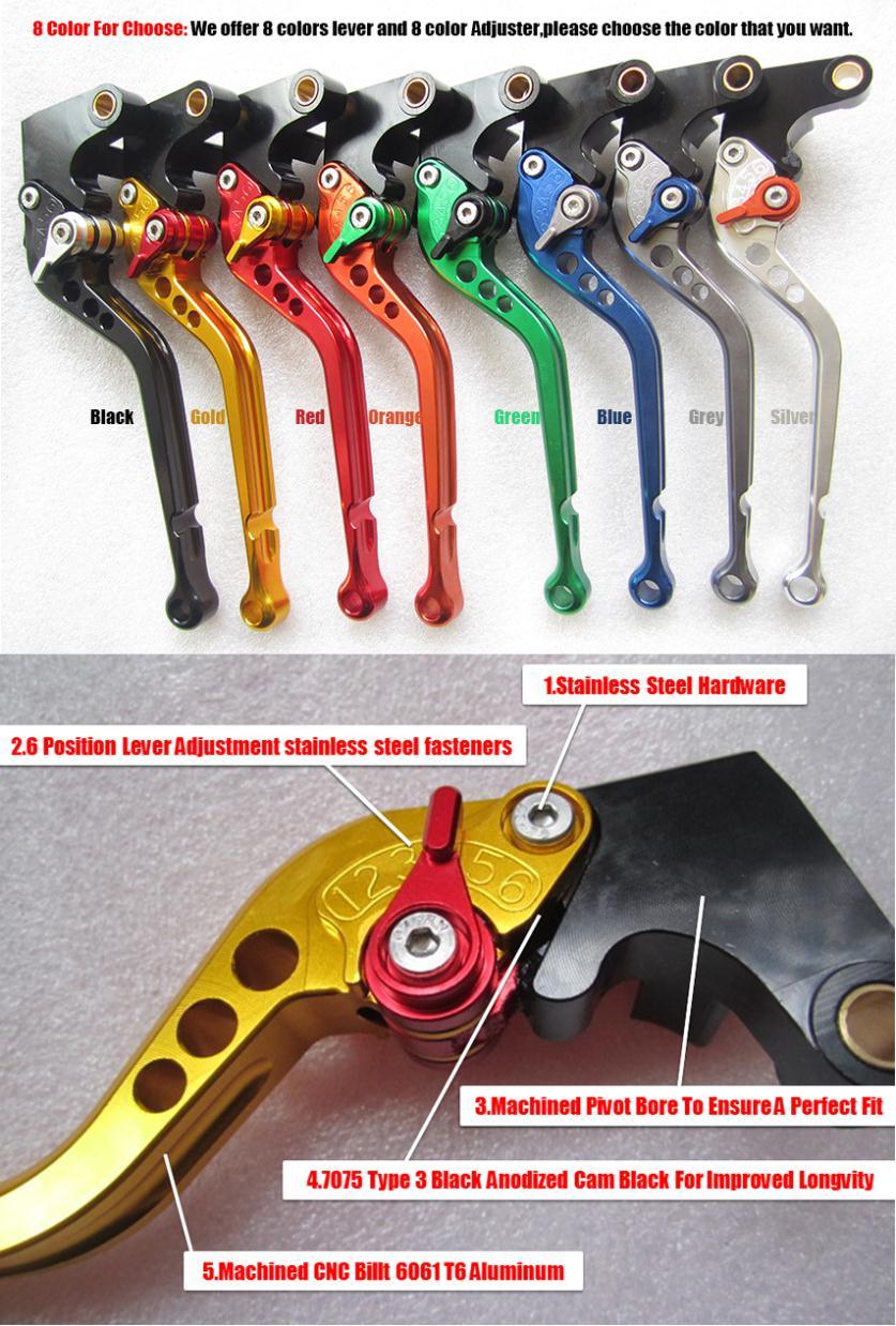 Купить Тормоз коротышка / длинный рычаг fit Honda Cb 750 Cb750 1991 - 2003 MT-L0493