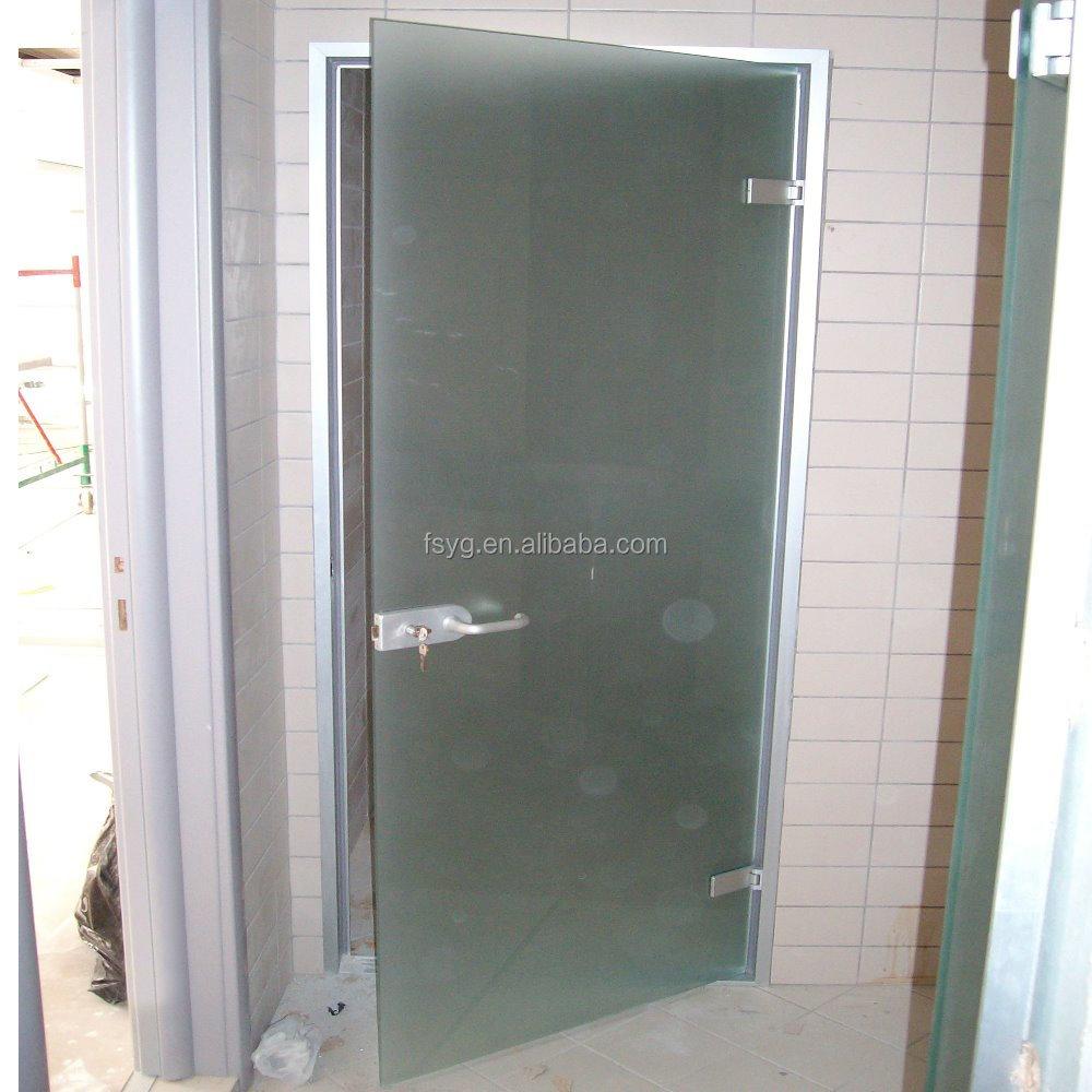 Hanging Glass Door Frameless Swing Doors Buy Hanging Glass Door