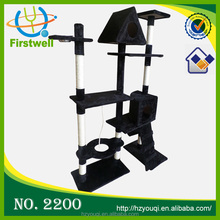 Sisal cat tree top sale high quality cat agility sets pet products