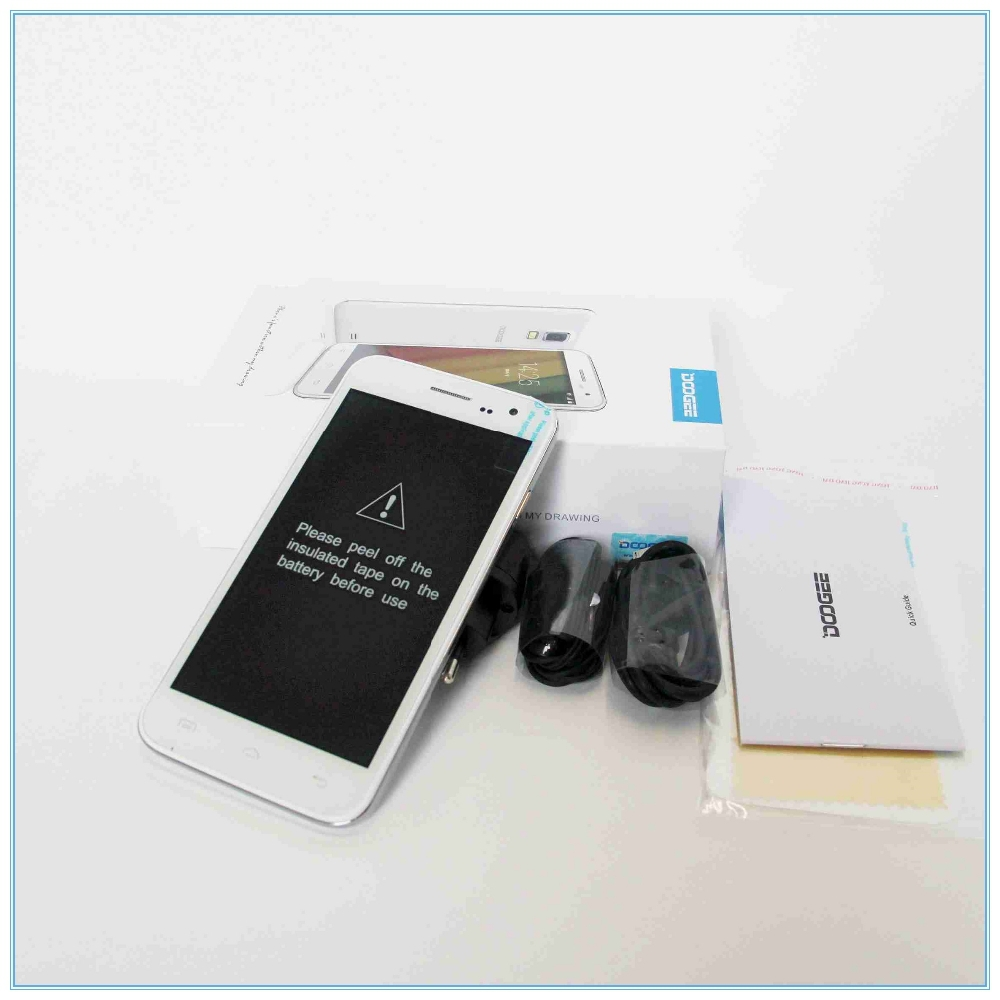 Wholesale brand mobile phone mtk6582 doogee for T mobile mini projector