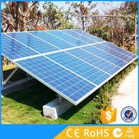 Solar equipment 5kw on grid system with solar power for homes