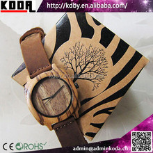 new fashion bamboo watch environment friendly bamboo wood watch natural bamboo watch