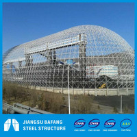 Space Frame Coal Shed of power plant