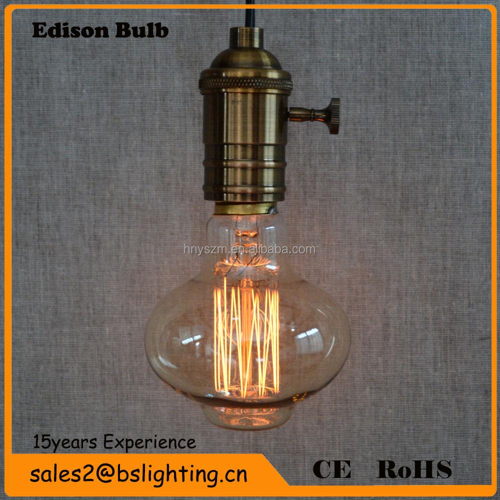 Buy Incandescent Bulb E27 40w Ac 110v T45 Tungsten: Incandescent Bulb A60/g80/g95/g125/st64/t30/t45/b53/b75