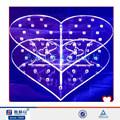 Corazón de acrílico soporte de la torta forma para la boda / / del caramelo / pops soporte