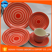 Hand painted exquisite ceramic dinnerware made in china wholesale