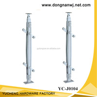 handrail aluminum staircase railing balustrade fittings YC-J0104