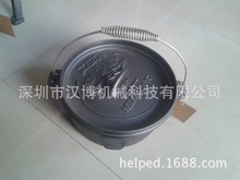 [Camping cast iron pot] [] Dutch pot stew pot \ Korea trade of the original single camping pot factory direct grant
