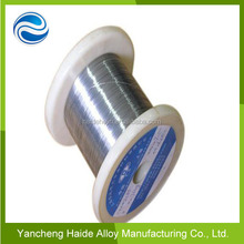 Electric current heat resistance wire heater wire