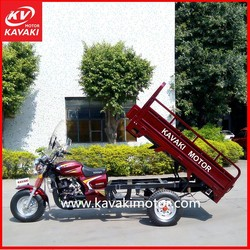 Air-Cooled Cold Style Single Cylinder Chinese Motorcycle Engine Three Wheeler Tricycle