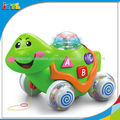 A115190 multifuncional de aprendizaje de los niños juguetes de plástico juguetes tortuga