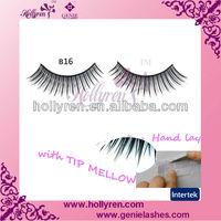 Hot Sold Natual Tip Mellow Handmade World Beauty Eyelashes