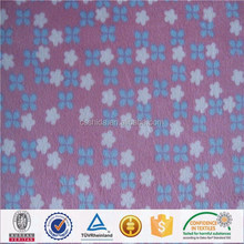 100% polyester micro fiber brushed velvet fabric for quilt and pillowcase