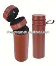 Sale! 2012 double wine PU leather box,wine gift set