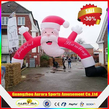 2015 best popular advertising christmas inflatable arch for christmas events