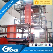 First rate factory price Good reputation high speed pe film blowing machine
