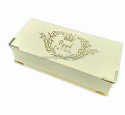 Luxury custom paper / velvet false eyelash packaging box