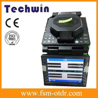 Multi-function optical fusion splicer Techwin Brand TCW-605C optical fiber welding machine