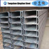 carbon steel C channel standard sizes
