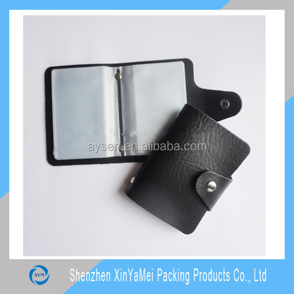 PVC leather business card holder for promotion