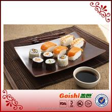2015 high quality halal seaweed/sushi nori porcelain sushi set sushi material