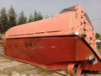 high quality and low price used lifeboat with davit