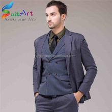Made to measure slim fit men's business suits