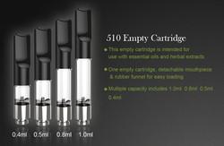 Slim pen like vape pen 510 thread 280mah 3.7V 510 battery rechargable for cbd cartridge from original factory direct sell