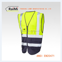 reflective running vest with high visibility safety vest latest fashion dresses for Man