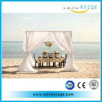 2014 high quality portable pipe and drape used on wedding