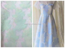Looming jacquard tulle dress fabric for girls' dresses