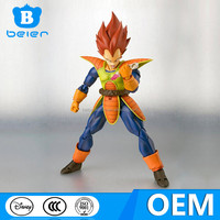 China toy factory, Top selling Anime action totally poseable figure for collection, dragon ball z action figures