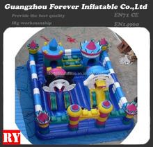 Inflatable animal playground
