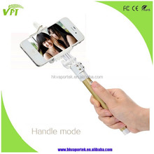 Extendable Handheld Monopod Selfie Stick Support Zoom in or Zoom Out Function with built-in Bluetooth
