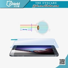 New Products Anti Blu-ray 0.2mm Tempered galss screen film for Galaxy note4