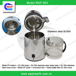 Trade Assurance WAP-health glass bottle cover SU304 stainless steel water distiller
