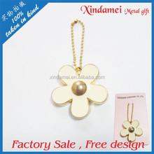 Sales promotion Flower shape key chain, clothes hanging ornaments