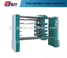 Multi spindles wood copying lathe